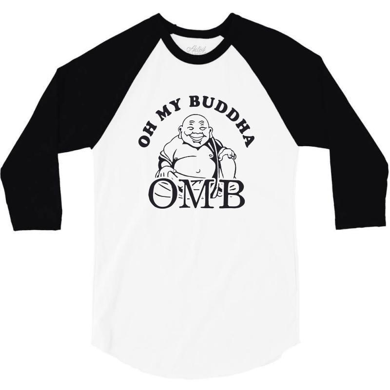c0ddc4176a oh my buddha t shirt funny yoga t shirt saying vintage buddha shirt bu 3/4  Sleeve Shirt