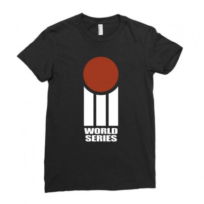 Cricket World Series Ladies Fitted T-shirt Designed By Blqs Apparel