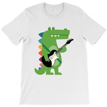 Croco Rocker T-shirt Designed By Blqs Apparel