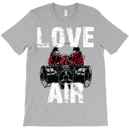 Love Is In The Arm T-shirt Designed By Wizarts
