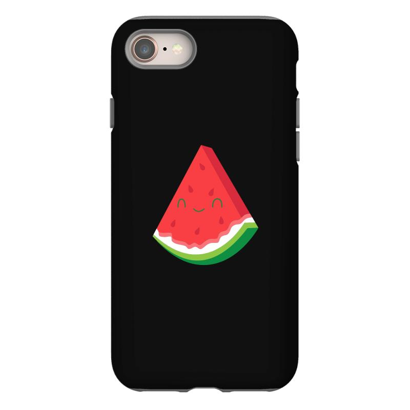 finest selection d1dda a64ed Happy Watermelon Slice Iphone 8 Case. By Artistshot