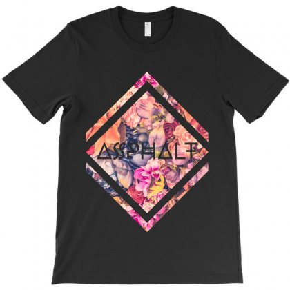 Asphalt T-shirt Designed By Zeynepu