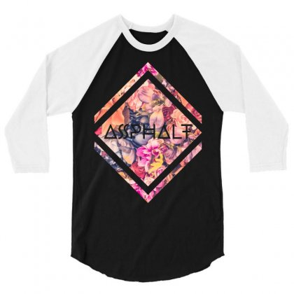 Asphalt 3/4 Sleeve Shirt Designed By Zeynepu