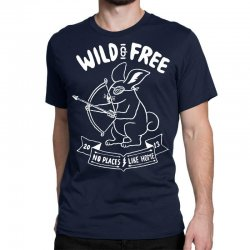 wild and free Classic T-shirt | Artistshot