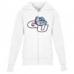 gonzaga university bulldogs Youth Zipper Hoodie | Artistshot