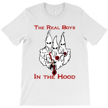 Real Boyz In The Hood T-shirt Designed By Dxart77