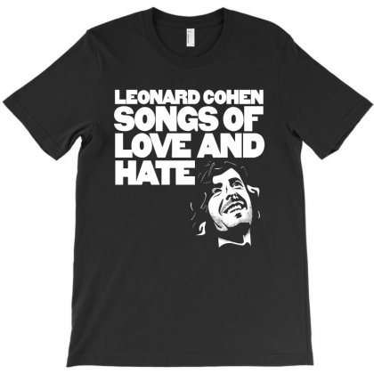 Leonard Cohend Songs T-shirt Designed By Dxart77
