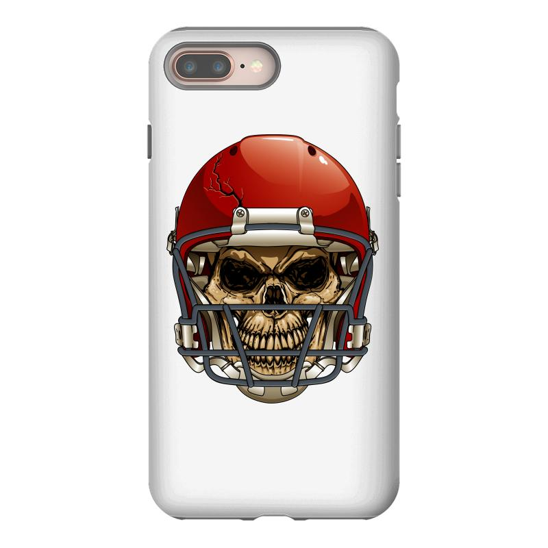 official photos 340ac e8e55 Cool Vector Football Skull Iphone 8 Plus Case. By Artistshot
