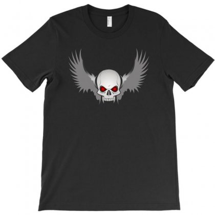 Cool Graphic Evil Skull T-shirt Designed By Dxart77
