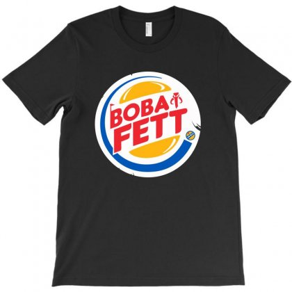 Boba T-shirt Designed By Dxart77