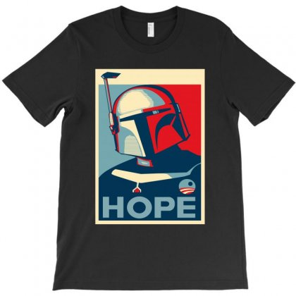 Obbey Boba For President T-shirt Designed By Dxart77