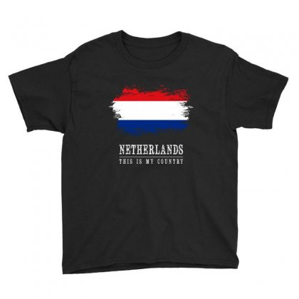 Netherlands Youth Tee Designed By Chris Ceconello