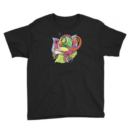 Chameleon Youth Tee Designed By Ik1n