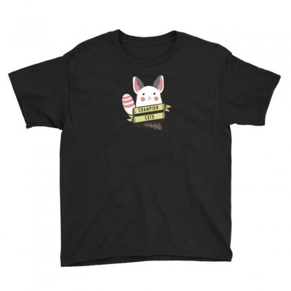 Champion Cute Chinchilla Youth Tee Designed By Ik1n