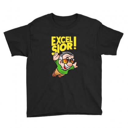 Excelsior! Youth Tee Designed By Blqs Apparel