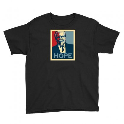 Colonel For President Youth Tee Designed By Ik1n