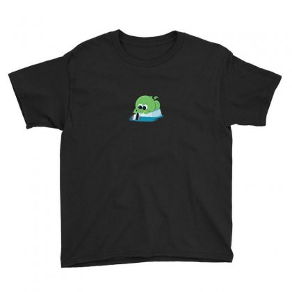 Cutethulhu Sinks The Titanic Youth Tee Designed By Ik1n