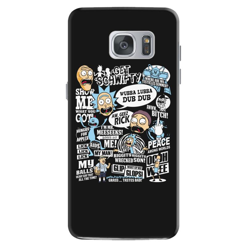 info for 38685 b5648 Rick And Morty Samsung Galaxy S7 Case. By Artistshot