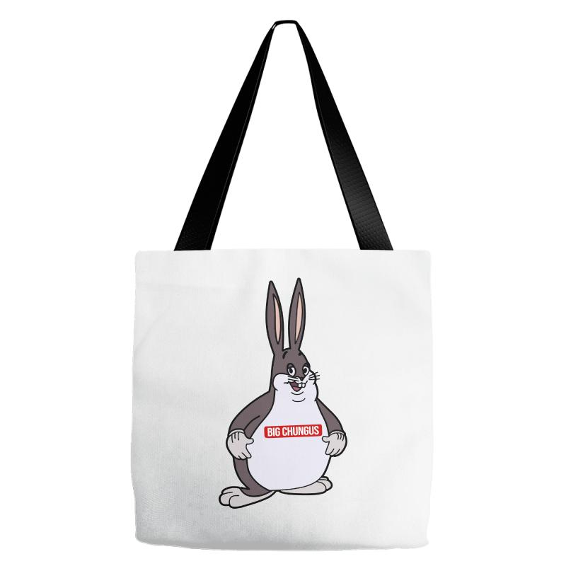 Chungus Funny Tote Bags By Artistshot