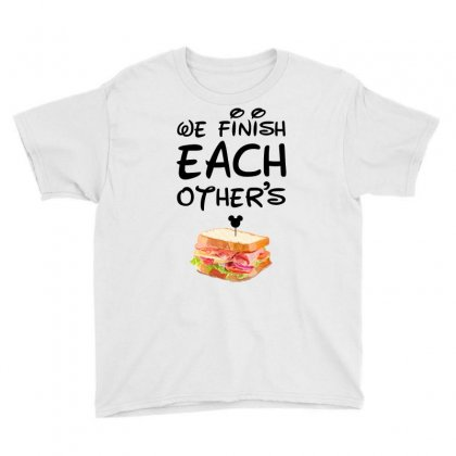 We Finish Each Other's For Light Youth Tee Designed By Sengul