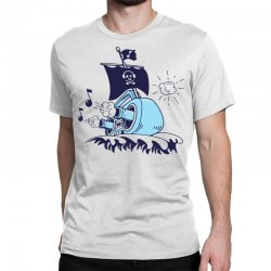 musical ship Classic T-shirt | Artistshot