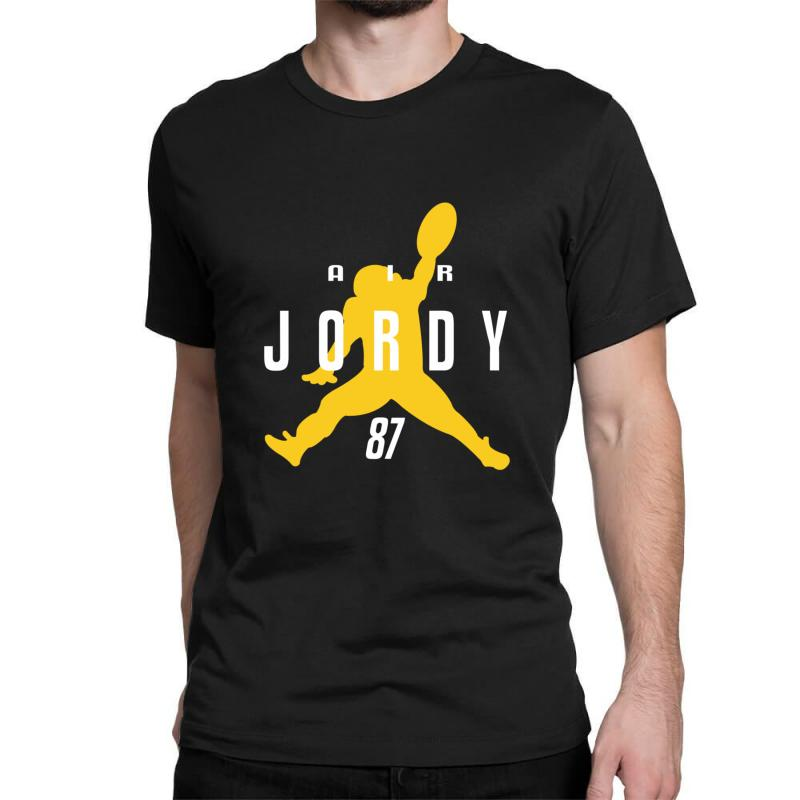 Air Jordy Green Bay Packers Jordy Nelson Classic T-shirt | Artistshot