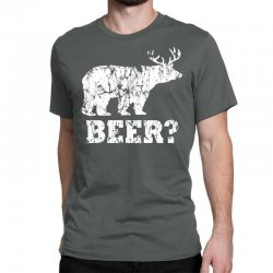 funny beer bear Classic T-shirt | Artistshot