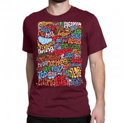 funny john lennon imagine quote Classic T-shirt | Artistshot