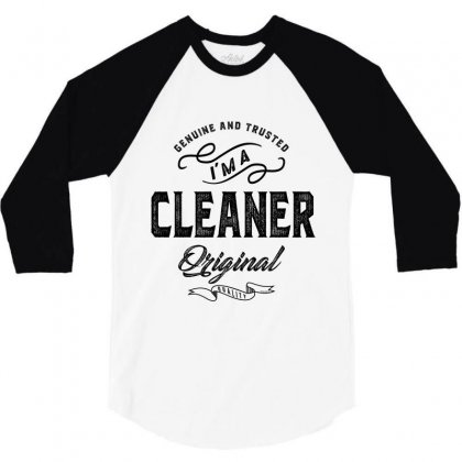 Cleaner 3/4 Sleeve Shirt Designed By Ale Ceconello