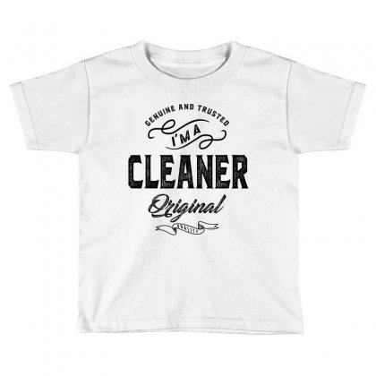 Cleaner Toddler T-shirt Designed By Ale Ceconello