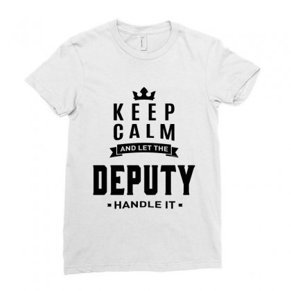 Deputy Ladies Fitted T-shirt Designed By Ale Ceconello