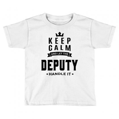 Deputy Toddler T-shirt Designed By Ale Ceconello