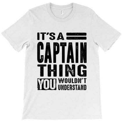 Captain T-shirt Designed By Ale C. Lopez