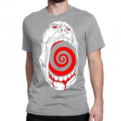 screaming face Classic T-shirt | Artistshot