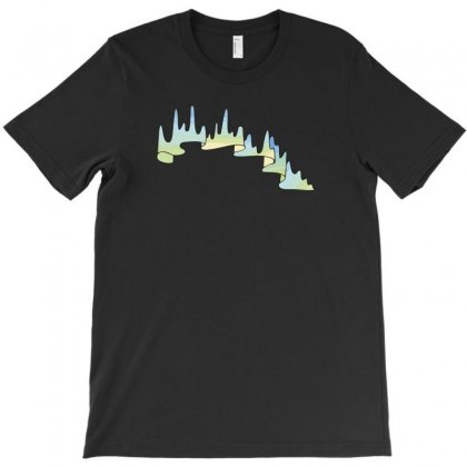 Mountains Logo Iv T-shirt Designed By Ik1n