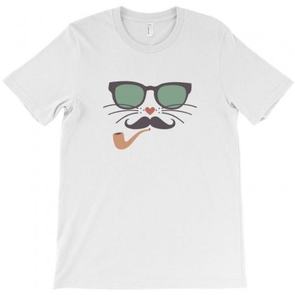 Mr Cat T-shirt Designed By Ik1n