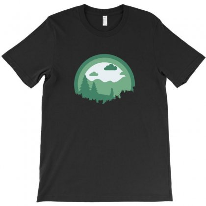 Nature H T-shirt Designed By Ik1n
