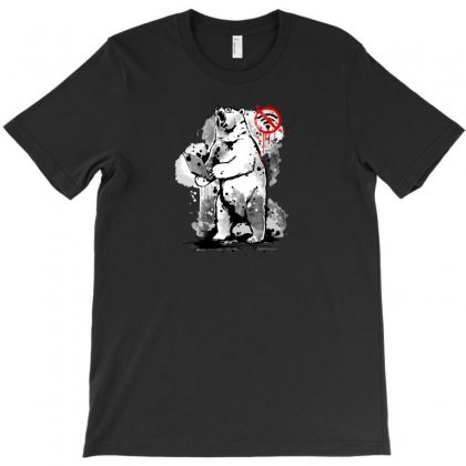 No Internet Connection   Angry Bear T-shirt Designed By Ik1n