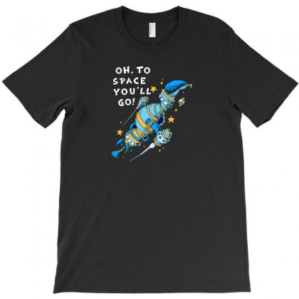 Oh To Space T-shirt Designed By Ik1n