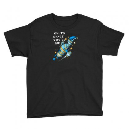 Oh To Space Youth Tee Designed By Ik1n