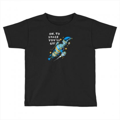 Oh To Space Toddler T-shirt Designed By Ik1n