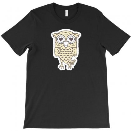 Owl N T-shirt Designed By Ik1n