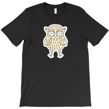 Owl New T-shirt Designed By Ik1n