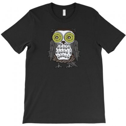 Owl Nn 1 T-shirt Designed By Ik1n