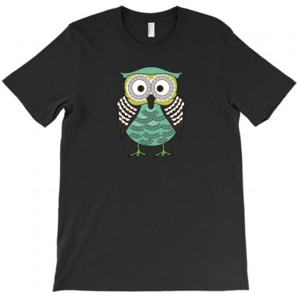 Owll T-shirt Designed By Ik1n