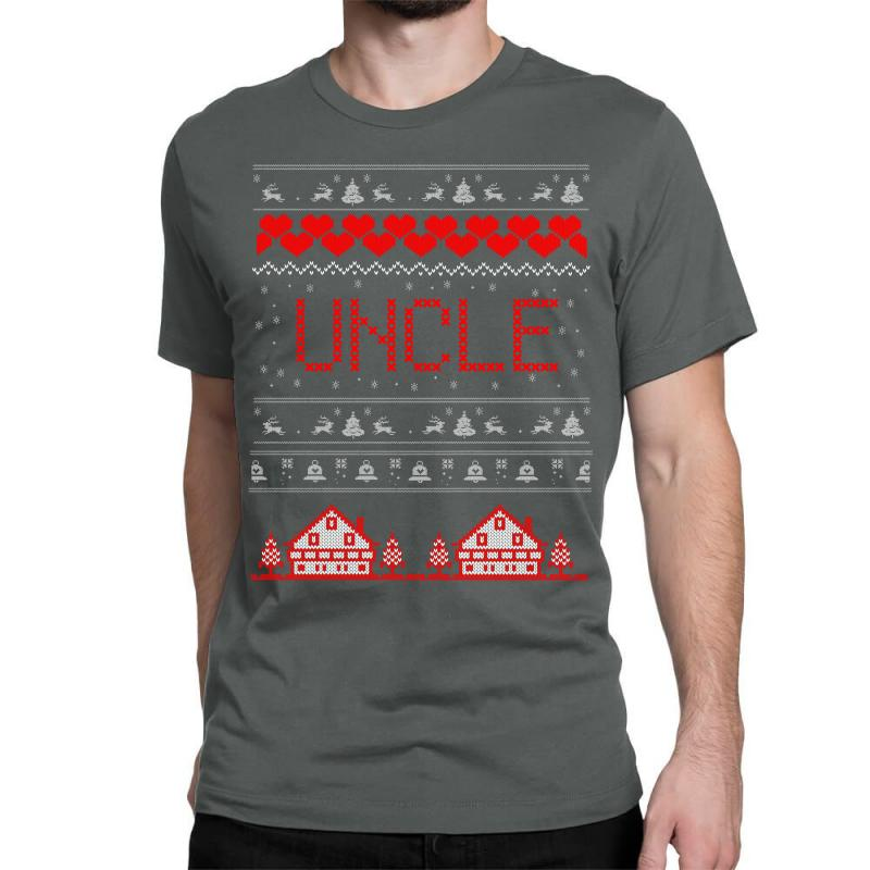 Uncle Ugly Christmas Sweater Classic T-shirt