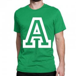 A Initial Name Classic T-shirt | Artistshot