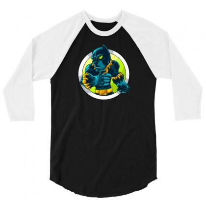 Black Panther New 3/4 Sleeve Shirt Designed By Z4k1