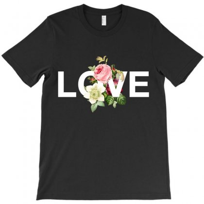 Love For Dark T-shirt Designed By Nurbetulk