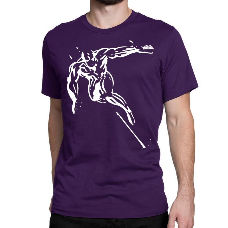 Custom The Silver Surfer Classic T Shirt By Mdk Art Artistshot